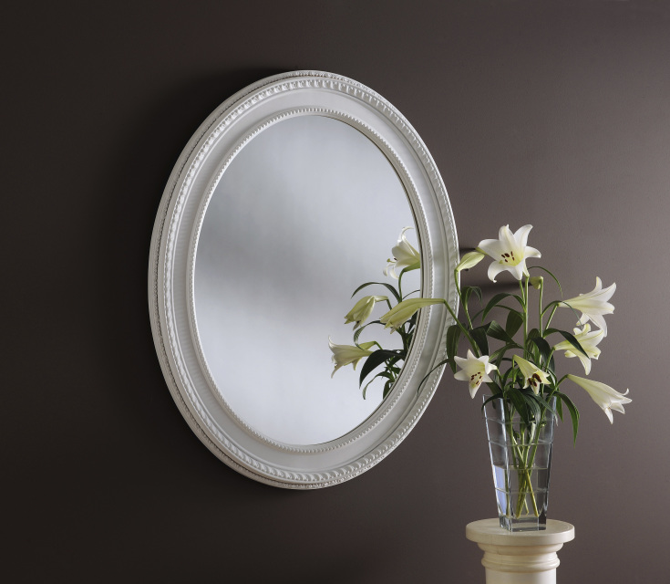 Oval Mirrors Ireland For Silver