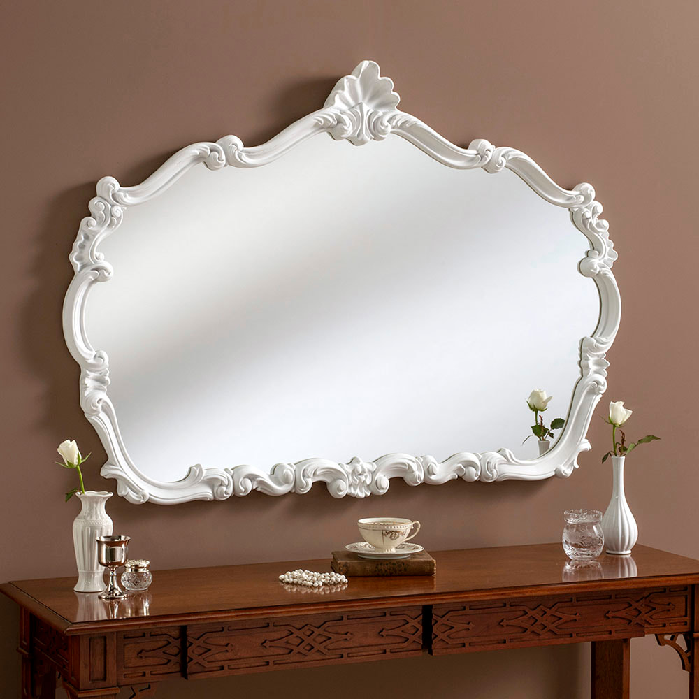 Yg205 Gold Overmantle Wall Mirror Large Decorative Framed