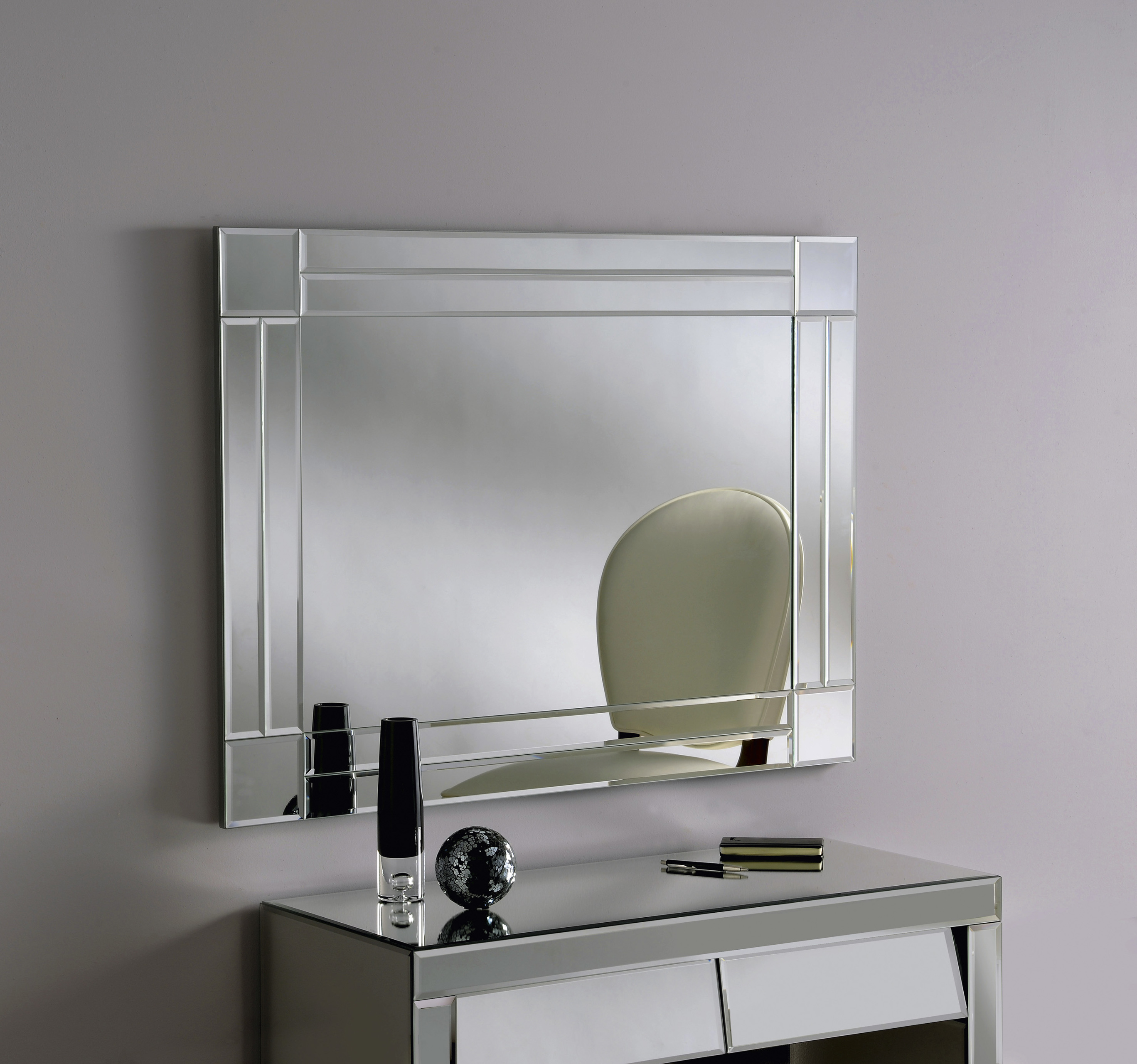 Deco Bathroom Mirror: BV60 Mirror ART DECO WALL MIRROR Simple Modern Rectangle