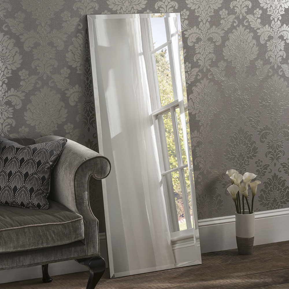 Classic Rectangle Bevelled Plain Mirrors Wall Mirrors